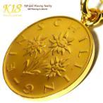 オーストリア 18金 18K コーティング コイン ネックレス チェーン ゴールド ペンダント 世界 外国 海外 世界のコイン 40cm 45cm 50cm 60cm