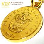 パナマ 18金 18K コーティング コイン ネックレス チェーン ゴールド ペンダント 世界 外国 海外 世界のコイン 40cm 45cm 50cm 60cm