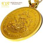 シエラレオネ 18金 18K コーティング コイン ネックレス チェーン ゴールド ペンダント 世界 外国 海外 世界のコイン 40cm 45cm 50cm 60cm