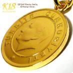 トルコ 18金 18K コーティング コイン ネックレス チェーン ゴールド ペンダント 世界 外国 海外 世界のコイン 40cm 45cm 50cm 60cm
