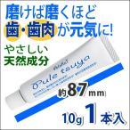 --歯磨き粉 研磨剤なし-- プレツヤ(歯磨き) 10g  《 1本入 》