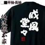ショッピングおもしろtシャツ おもしろグッズ おもしろtシャツ メンズ 文字 名言 魂心Tシャツ(威風堂々)雑貨 半袖 漢字 筆文字 プレゼント  文字tシャツ