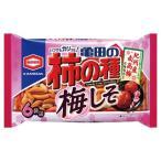 亀田 亀田の柿の種梅しそ6袋詰 182g まとめ買い(×12)