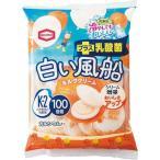 亀田 白い風船ミルククリーム 18枚入 まとめ買い(×12)