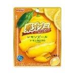 明治 果汁グミもっとくだものレモンピール 47g まとめ買い(×10) |4902777030197