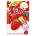 明治 果汁グミいちご 51G まとめ買い(×10)|4902777079752(dc)