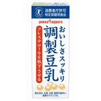 Pサッポロ おいしさスッキリ調整豆乳(G) 200ml まとめ買い(×24)|4582409182229(tc)