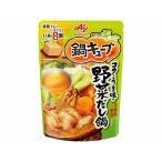味の素 鍋キューブコクとうまみの野菜だし鍋 8個入 72g まとめ買い(×8)