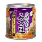 カンピー 国産大粒みかん入り みつ豆 190g まとめ買い(×12)|4901401010505(tc)