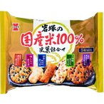 岩塚 岩塚の国産米100% 米菓詰合せ 188g まとめ買い(×10)|4901037004756(tc)(082742)