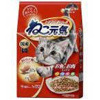 (5個セット)ユニチャーム ねこ元気 お魚とお肉ミックス 2kg 猫 ネコ キャットフード まとめ買い