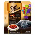 Yahoo!スーパーフジの通販 FUJI netshopマース シーバデュオ 魚介とお肉のチーズ味セレクション 240g|4902397831440(tc)