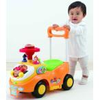 アンパンマン よくばりビジーカー 押し棒+ガード付き|乗用 押し車 ベビー 子供 幼児 アガツマ 10ヶ月以上 アンパンマンおもちゃ おもちゃ 玩具