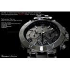 サルバトーレマーラ  電波ソーラー腕時計 クロノグ...