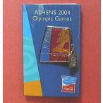 コカ・コーラ「2004アテネオリンピック」ピンバッジ・コレクション:人類最古のスポーツイベント