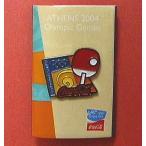 コカ・コーラ「2004アテネオリンピック」ピンバッジ・コレクション:卓球