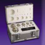 セット分銅(F1CSO-2KAJ:2kgセット[1g〜1kg])JISマーク付 OIML型円筒分銅(非磁性ステンレス)F1級(特級)分銅 ポイント倍増