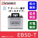 EB50 HIC60 -P ポールタイプ ( テーパー端子 )  日立 ( 新神戸 ) 産業バッテリー