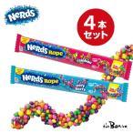 送料無料クリックポスト配送 選べる Nerds Rope ナーズロープ キャンディー レインボー ベリーベリー 4本セット