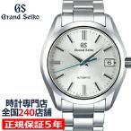 セイコー メカニカル 9S 自動巻き メンズ 腕時計 SBGR307 シルバー メタルベルト カレンダー
