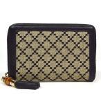 グッチ / GUCCI: バンブー ラウンドファスナー 二つ折り財布 ディアマンテ 224256 財布 折財布(中古)