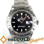 ロレックス / ROLEX : エクスプローラー2 新品仕上済 黒文字盤 F番 16570 時計 腕時計 メンズ[男性用] 中古
