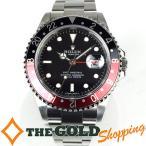 ロレックス / ROLEX : GMTマスター2 黒赤ベゼル OH・新品仕上済 Z番 16710 時計 腕時計 メンズ[男性用] 中古