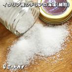 イタリア産 シチリアの海塩 フィーノ 細粒タイプ 130g シーソルト