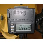 Wixey 自動カンナ、サンダー、その他の木工機械用 リモートデジタル目盛り (WR550)