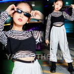 キッズダンス衣装 韓国 チアダンス衣装 ヒップホップ HIPHOP かっこいい ガールズ トップス パンツ セットアップ 練習着 発表会