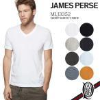 【正規販売】JAMES PERSE ジェームスパース メンズ MLJ3352 半袖Vネックカットソー [17色]