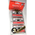 ソニー SONY マイクロカセット 3MC-60B 60分3巻セット