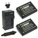 JVC ADIXXION GC-XA1用 互換バッテリー+充電器セット [並行輸入品]