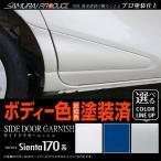 シエンタ 170系 新型 サイドドア ガーニッシュ 4P ボディ同色仕上げ P17系 サイドガーニッシュ エアロ 外装品 受注生産/ご注文から14営業日で順次発送