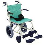 KA6 コンパクト旅行用車椅子(車いす) カワムラサイクル製 セラピーならメーカー正規保証付き/条件付き送料無料 旅ぐるまシリーズ