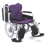 KA816-40ELB 車椅子(車いす) カワムラサイクル製 セラピーならメーカー正規保証付き/条件付き送料無料