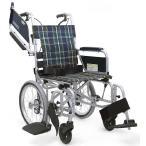 KA816L-40(38・42)B-MS 車椅子(車いす) カワムラサイクル製 セラピーならメーカー正規保証付き/条件付き送料無料