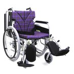 KA822-40(38.42)ELB 車椅子(車いす) カワムラサイクル製 セラピーならメーカー正規保証付き/条件付き送料無料