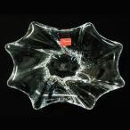 バカラ 灰皿 クリスタルガラス製 Baccarat キャディックス CADIX アッシュトレイ 13.5cm x18.5cm 高さ4.5cm 1712425
