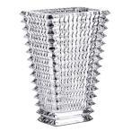 ショッピング花瓶 バカラ  花瓶 花器 クリスタルガラス製 Baccarat  アイ ベース EYE VASE  スクウエアS フラワーベース 高さ20cm 2612989