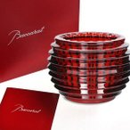 ショッピングバカラ バカラ  Baccarat   アイ キャンドルホルダーレッド EYE  2802309  クリスタルガラス製  キャンドル付