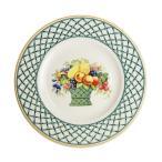 ビレロイ&ボッホ  ケーキプレート21cm バスケットガーデン デザート皿  陶磁器製