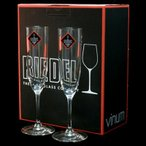 RIEDEL リーデル シャンパングラス ヴィノム シャンパーニュ 2本組 無鉛クリスタルガラス製