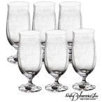 ビールグラス  ビアグラス6本セット  6客入  容量280ml  KAB-700  ボヘミアクリスタルガラス製