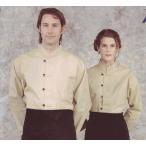 マオカラー、スタンドカラーシャツ  男女兼用S〜LL サイズ欠け最終処分¥1080