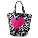 [8月末入荷予定]  レディース バッグ ミニトートバッグ ピンク シンクビー ファンキーゼブラ 公式