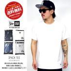 NEWERA ニューエラ Tシャツ メンズ 無地 2枚組 2PACK パックTシャツ 白 黒 ネイビー グレー B系 ファッション メンズ \