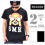 再入荷 REASON CLOTHING リーズンクロージング Tシャツ メンズ 半袖 B系 ファッション メンズ ヒップホップ ストリート系 ファッション HIPHOP