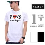 REASON CLOTHING リーズンクロージング Tシャツ メンズ 半袖 B系 ファッション メンズ ヒップホップ ストリート系 ファッション HIPHOP