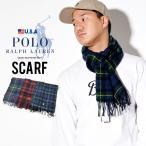 Polo Ralph Lauren ポロラルフローレン マフラー メンズ ブランド タータンチェック ポニー PC0458 Classic Wool Tartan Scarf